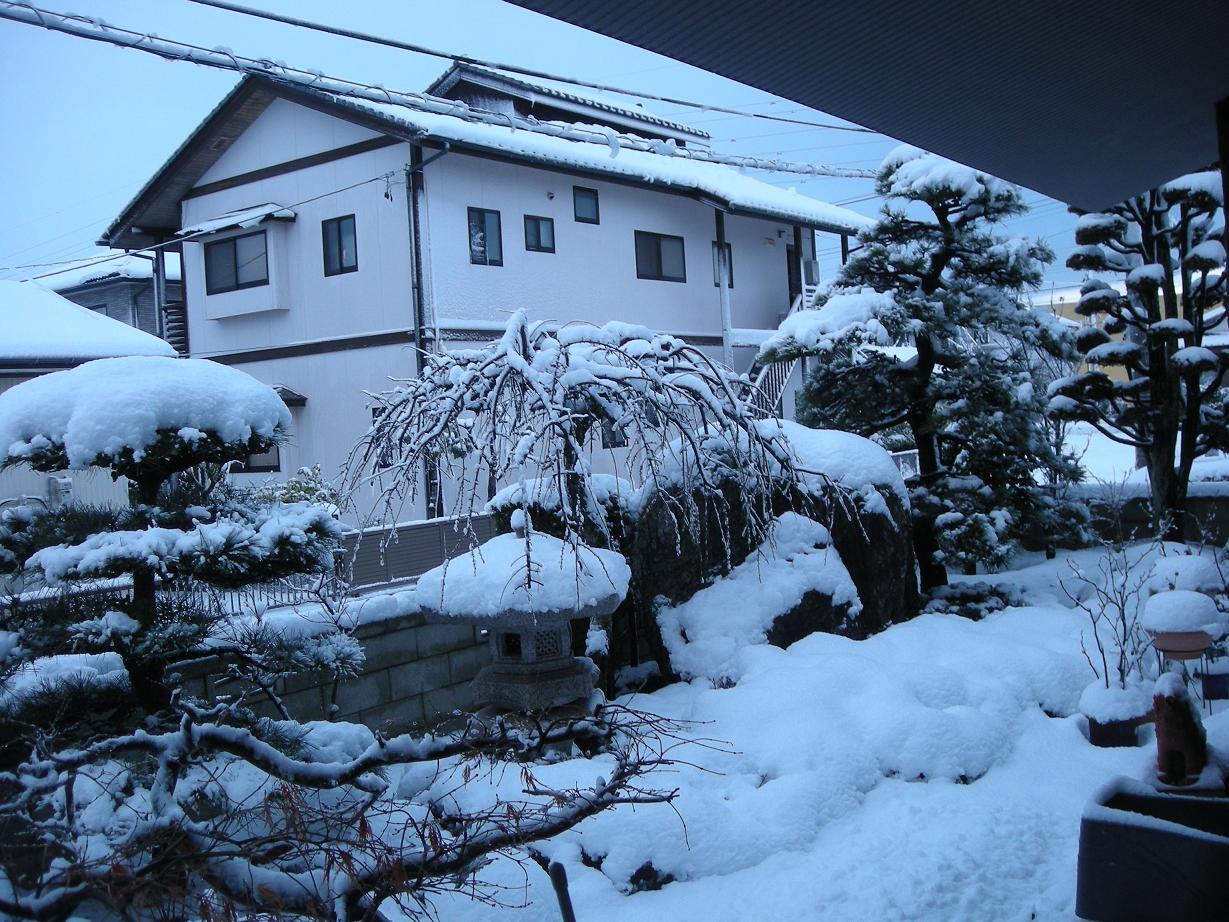 福島いわきの大雪